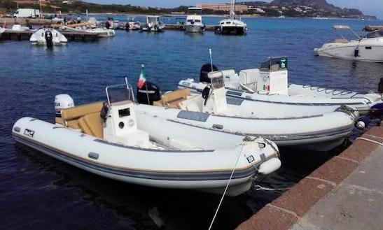 Rib Boat Rental In Asinara, Italy