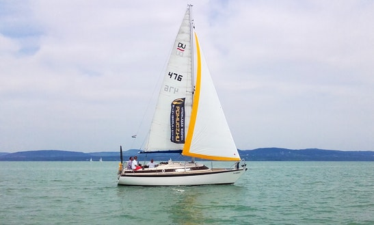 Sailing Charter Cruises In Lake Balaton From Siófok