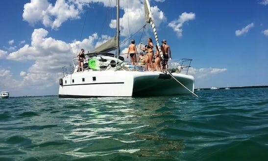 Catviar! 35 Foot Sailing Catamaran In Miami!