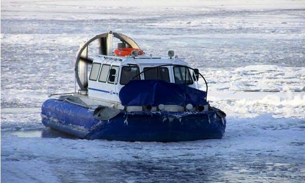 """Khivus-10"" Amphibious Hovercraft Charter In Samara, Russia"