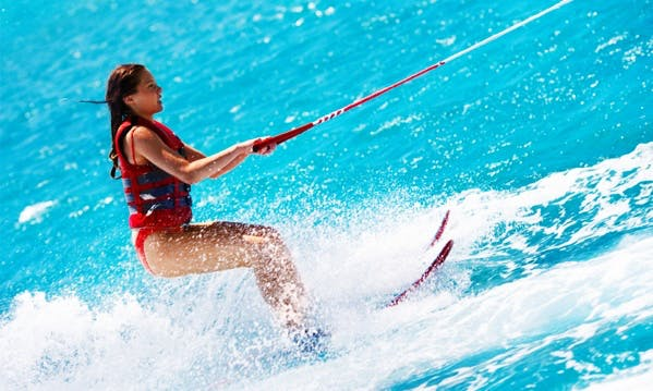Water Ski Experience in Armação de Pêra, Algarve, Portugal