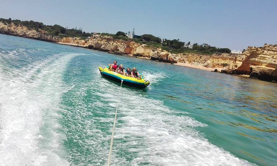 Enjoy Sofa Rides in Armação de Pêra, Algarve, Portugal