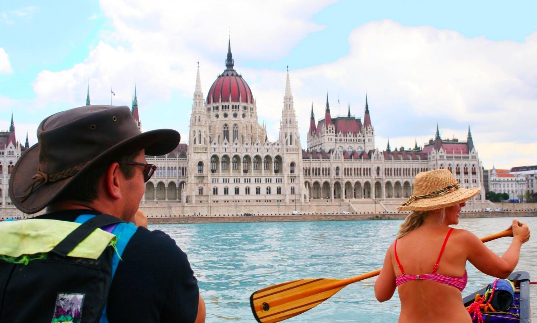 Budapest Sightseeing Canoe Tour (½ day)