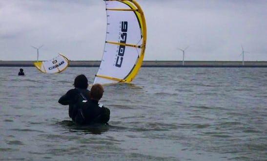Enjoy Kitesurfing Lessons In Rockanje, Zuid-holland