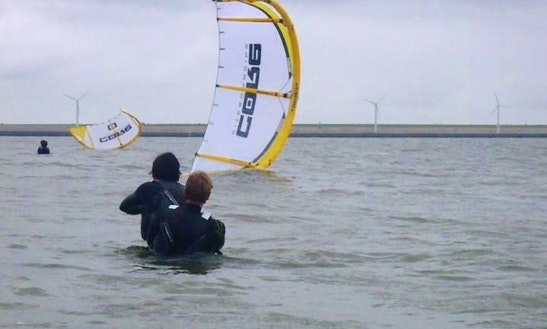 Enjoy Kitesurfing Lessons In Rockanje, Zuid-holland