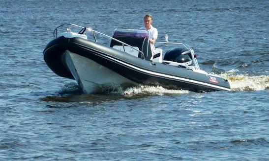 Rent A Rigid Inflatable Boat In Loosdrecht, Noord-holland