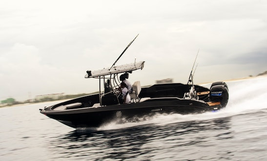 26' Center Console Game Fishing Charter In H. Dh Atoll, Maldives