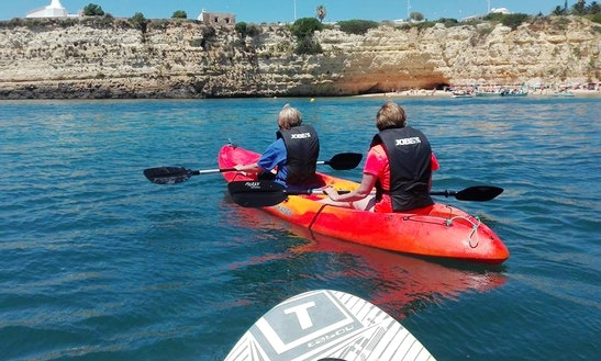 Rent A Double Kayak And Tours In Armação De Pêra, Algarve, Portugal