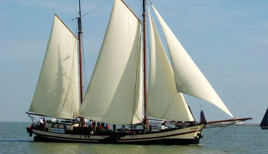 Charter 92' Schooner In Monnickendam,noord-holland