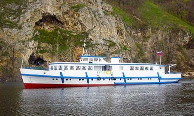 """Charter """"Zhuravel"""" Crane Passenger Boat In Samara, Russia"""