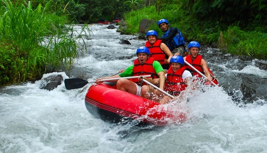 White Water Rafting Trip On Ayung River In Bali