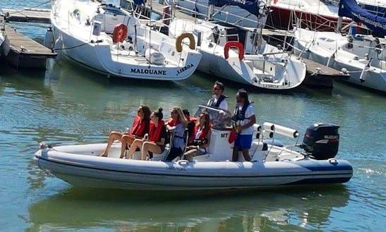 Rent A Rigid Inflatable Boat In Lisboa, Portugal