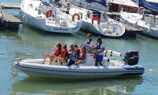 Rent A Rigid Inflatable Boat In Lisboa, Portugal