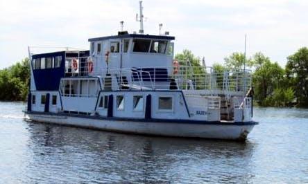 "Charter ""Valentine"" Passenger Boat In Samara, Russia"