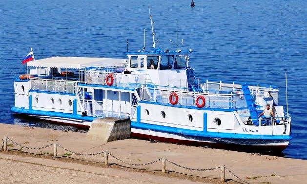 "Charter ""Delta"" Passenger Boat In Samara, Russia"