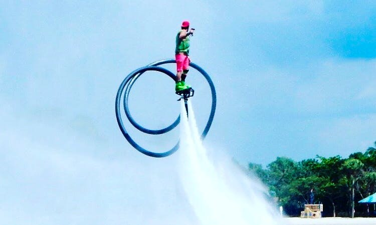 Fly Flyboard Pro Series on Lake Ranier