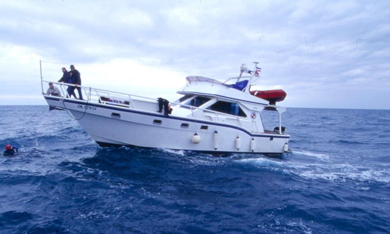 Charter 52' Motor Yacht in Obala, Montenegro