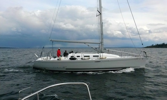 Charter 41' First Cruising Monohull In Vestfold, Norway
