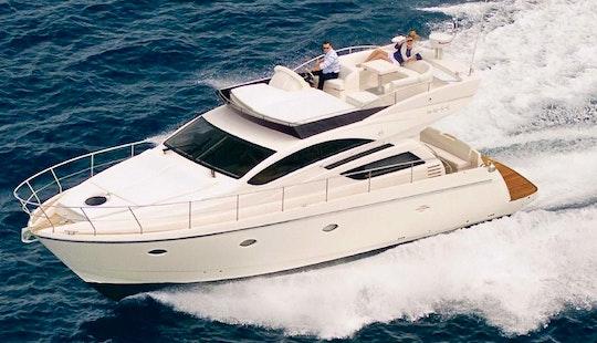 Charter 50' Rodman Muse 44 Motor Yacht In Hamble-le-rice, England