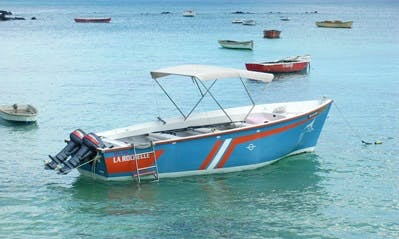 Enjoy Fishing in  Pamplemousses, Mauritius on Dinghy
