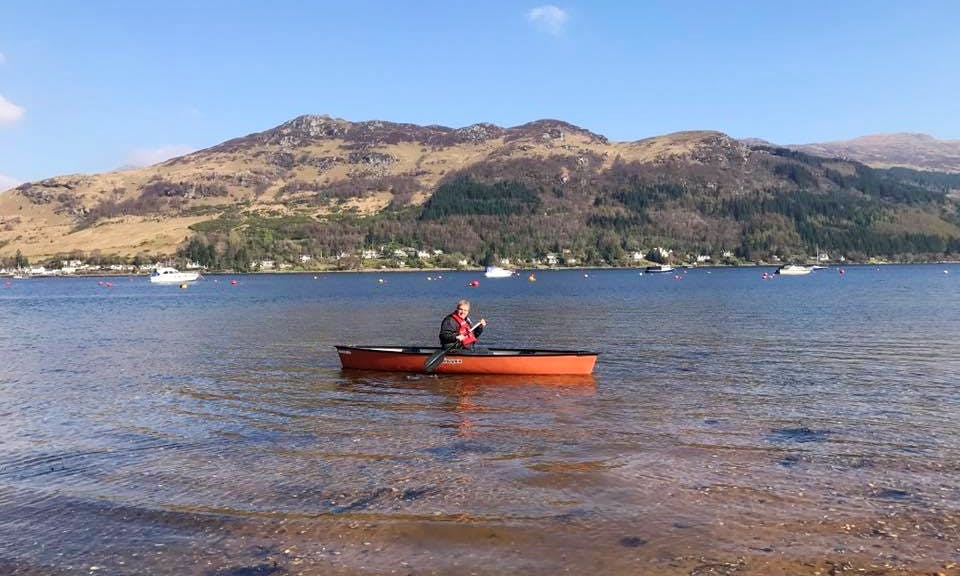 Hire a 3-Person Canoe in Lochgoilhead, Scotland