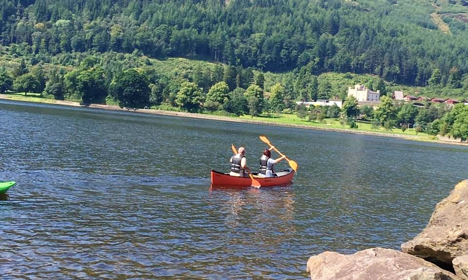 Hire a Double Canoe in Lochgoilhead, Scotland