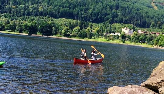 Hire A Double Canoe In Lochgoilhead, Scotland