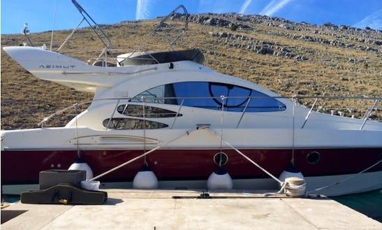 Charter 40' Azimut Motor Yacht In Punat, Croatia