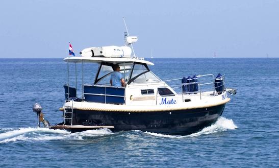 Charter 33' Sasanka Courier Motor Yacht In Punat, Croatia