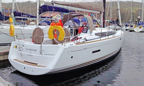 Hire 37' Scimitar Jeanneau Cruising Monohull In Largs, Scotland