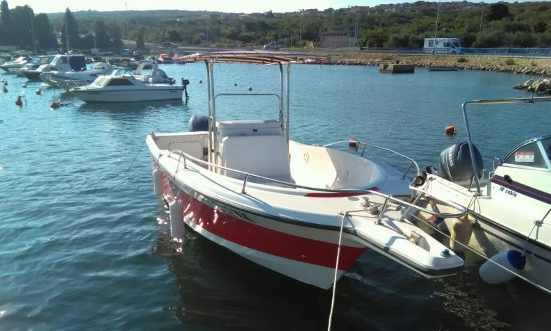 Rent 23' Bayliner 2503 Trophy Center Console in Punat, Croatia