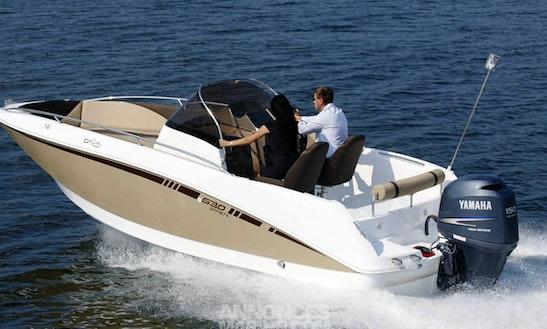 Rent 20' Bateau Galia 630 Motor Yacht In Punat, Croatia