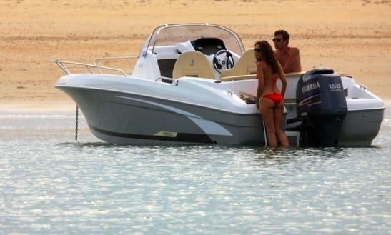 Rent 20' Beneteau Flyer 650 Open Motor Yacht In Punat, Croatia
