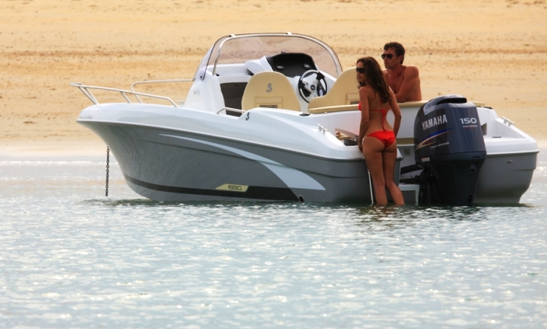 Rent 20' Beneteau Flyer 650 Open Motor Yacht In Punat, Croatia