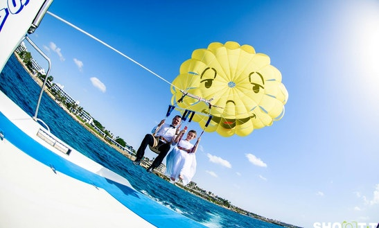Enjoy Parasailing In Paphos, Cyprus