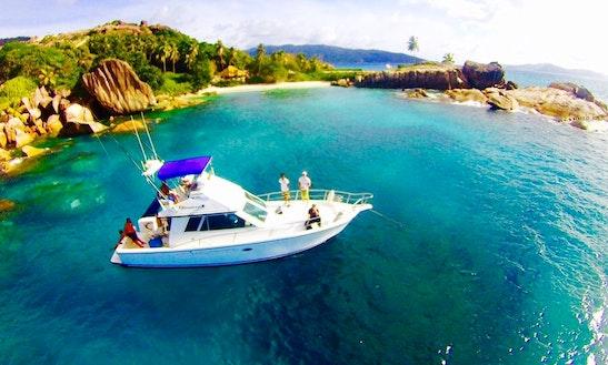 Enjoy Fishing In Grand Anse, Seychelles On Venture Sport Fisherman