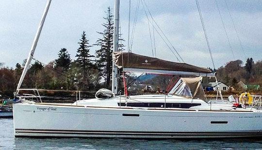 Jeanneau So 379 Sailing Charter In Scotland