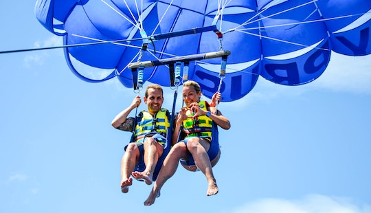Enjoy An Exciting Parasailing Adventure In Pernera, Cyprus
