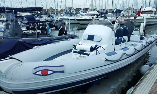 Charter 21' Rigid Inflatable Boat In Portsmouth, England