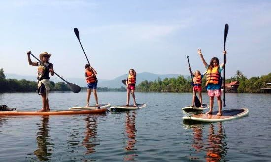 Stand Up Paddleboard Rental in Kampot, Cambodia