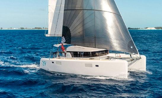 Charter 39' Lagoon Cruising Catamaran At Elba Island, Italy