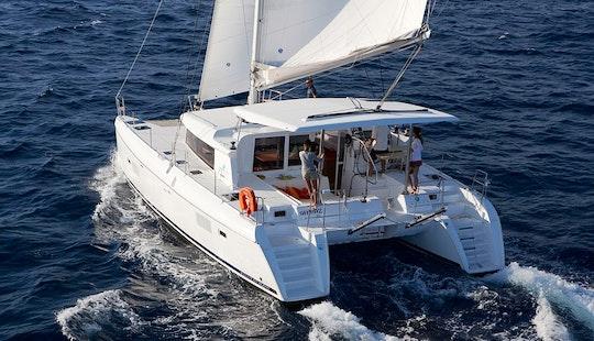 Enjoy Sailing Cruise With Lagoon Catamaran In Elba Island, Italy