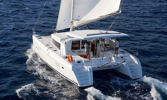 Enjoy Sailing Cruise With Lagoon Catamaran In Elba Island, Italy