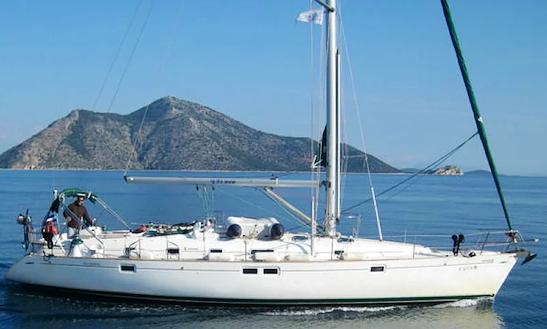 Charter 46' Martinica Oceanis Cruising Monohull In Rosignano Solvay-castiglioncello, Italy