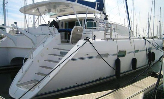 Charter 58' Privilege Cruising Catamaran In Sardegna, Italy