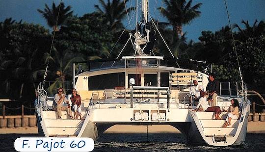 Charter 60' Fountaine Pajot Cruising Catamaran In Sardegna, Italy
