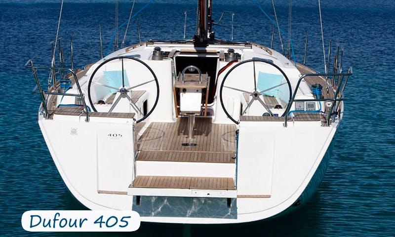 Charter 40' Dufour Cruising Monohull in Sardegna, Italy