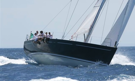 Charter 50' Jeanneau Sun Odyssey Cruising Monohull At Aeolian Iaslands, Italy