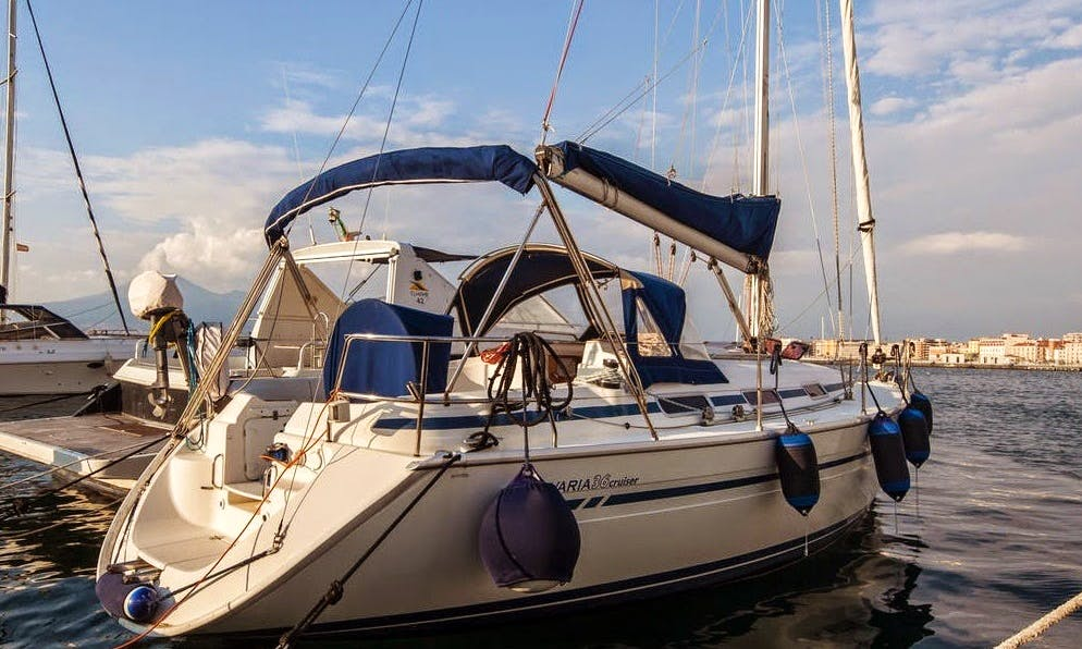Capri Sorrento and Amalfi Coast with Bavaria 36 3cabin and skipper