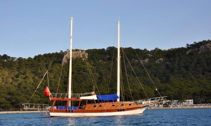 Charter 59' Sailing Gulet in Göynük Belediyesi, Antalya
